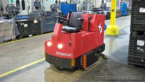 Factory Cat XR Rider Floor Scrubber
