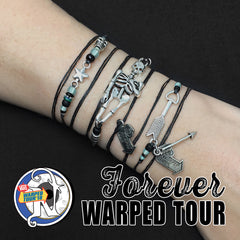 Forever Warped Tour NTIO Bracelet with Glow Beads by Vans Warped Tour