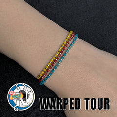 Blue 25 Years NTIO Bracelet by Vans Warped Tour