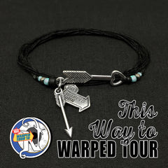 This Way to Warped Tour NTIO Bracelet with Glow Beads by Vans Warped Tour