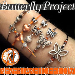 Begin Again NTIO Butterfly Project Bracelet