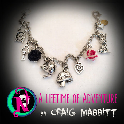 A Lifetime of Adventure NTIO Charm Bracelet by Craig Mabbitt