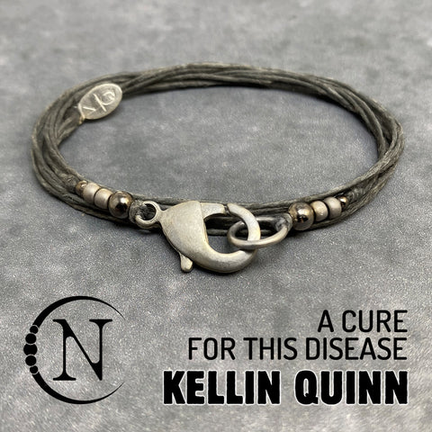 A Cure for This Disease NTIO Bracelet by Kellin Quinn