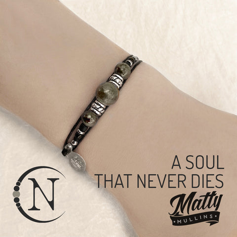A Soul That Never Dies NTIO Bracelet by Matty Mullins
