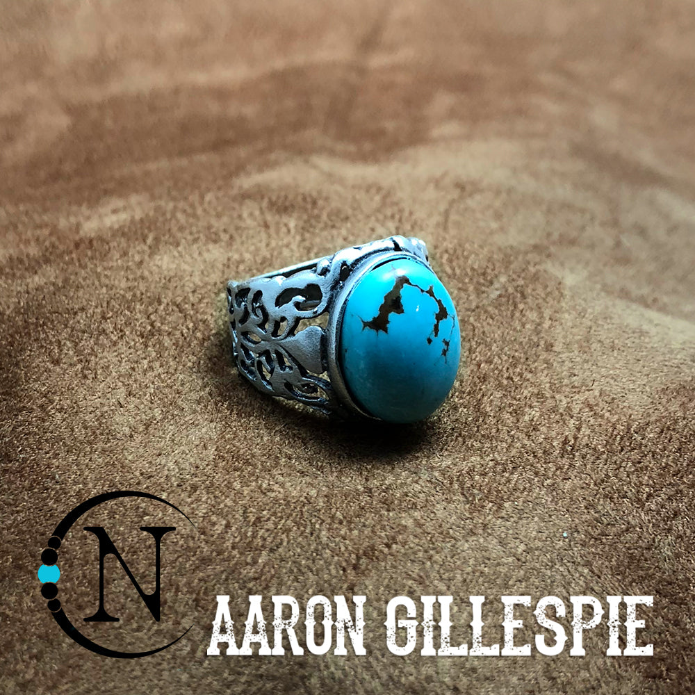 Turquoise Ring by Aaron Gillespie ~ Limited Edition