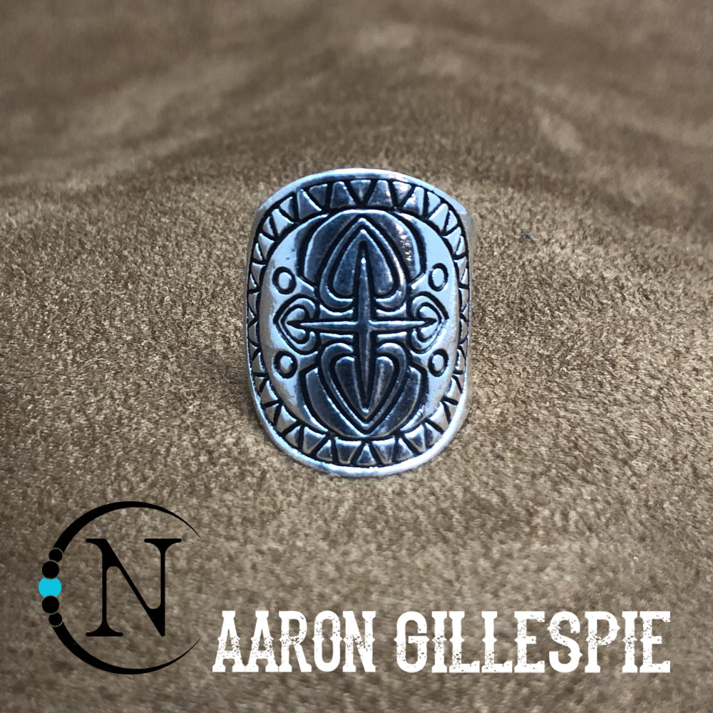 Sliver Cuff Ring by Aaron Gillespie ~ Limited Edition