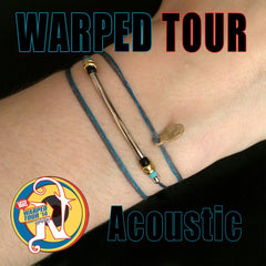 Acoustic NTIO Bracelet by Vans Warped Tour