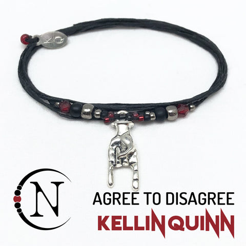 Agree To Disagree NTIO Bracelet by Kellin Quinn