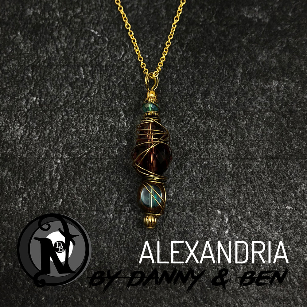 Necklace Alexandria by Danny Worsnop and Ben Bruce