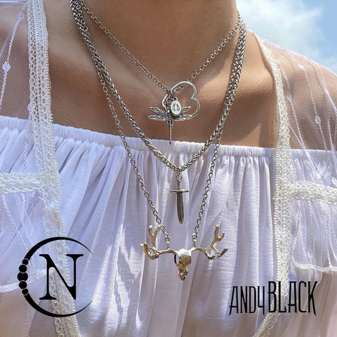 Andy Biersack Classic 3 Piece NTIO Necklace/Choker Stack