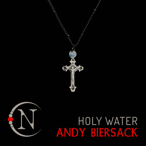 Holy Water Mini Rosary NTIO Necklace by Andy Biersack ~ Limited 20