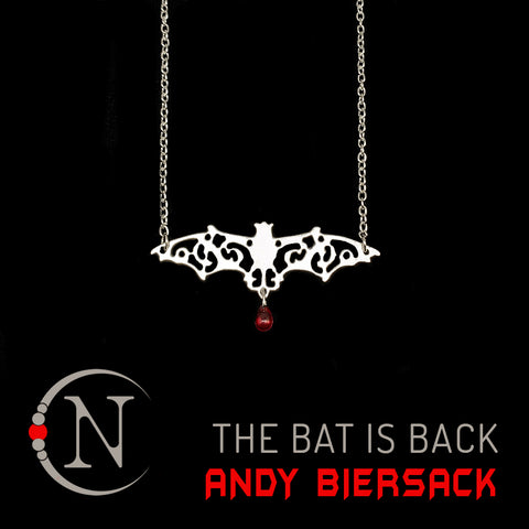 The Bat Is Back NTIO Necklace by Andy Biersack ~ Limited 25 More