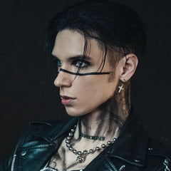 Andy Biersack Don't Say Goodbye 4 Piece NTIO Necklace Stack