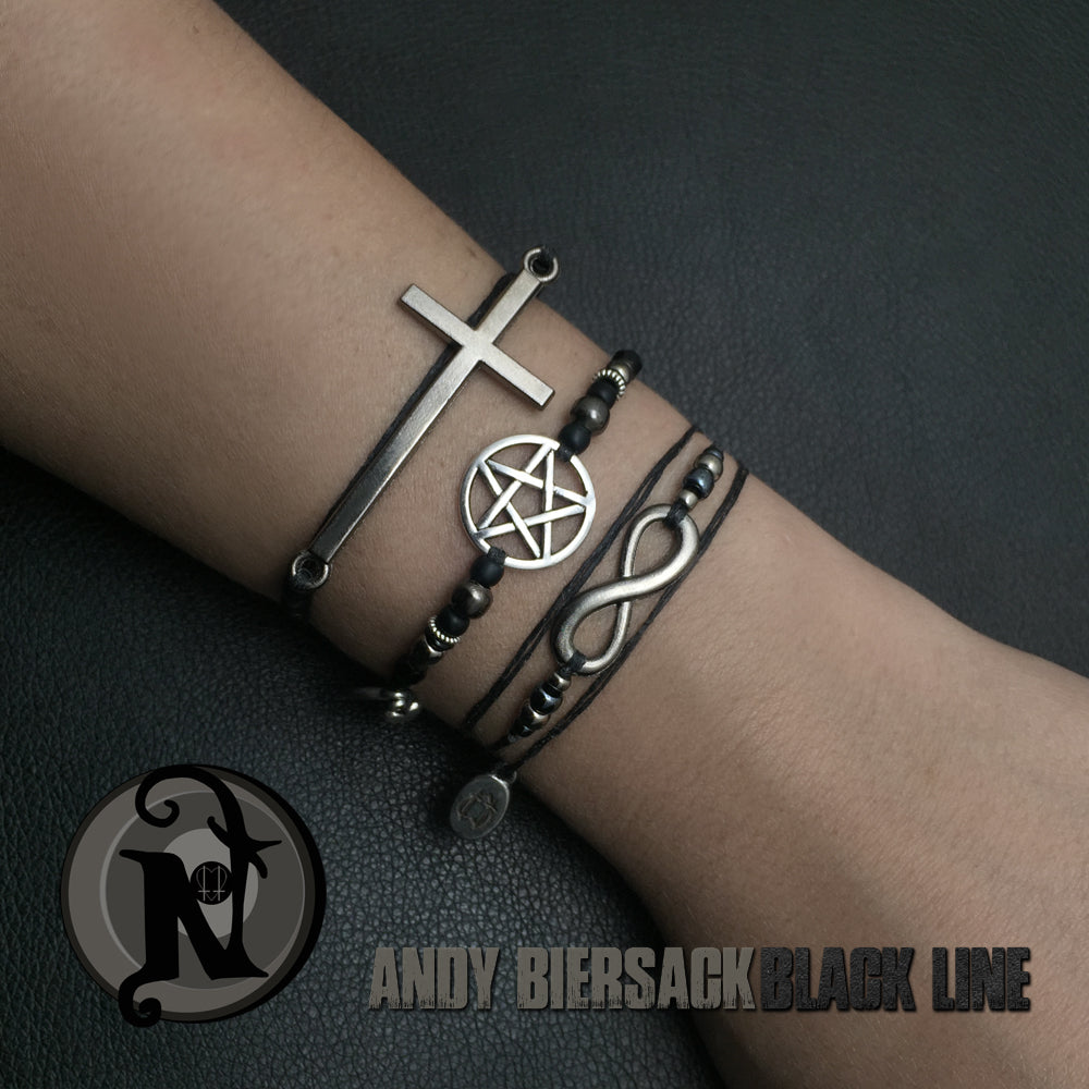 The Love Conquers All NTIO 3 Bracelet Bundle by Andy Biersack