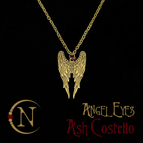 Angel Eyes NTIO Necklace by Ash Costello ~ Holiday Angels 2019