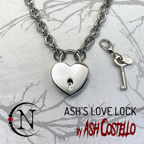 Ash's Love Lock Replica NTIO Necklace by Ash Costello