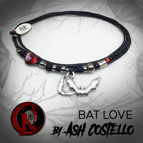 Bat Love NTIO Bracelet by Ash Costello