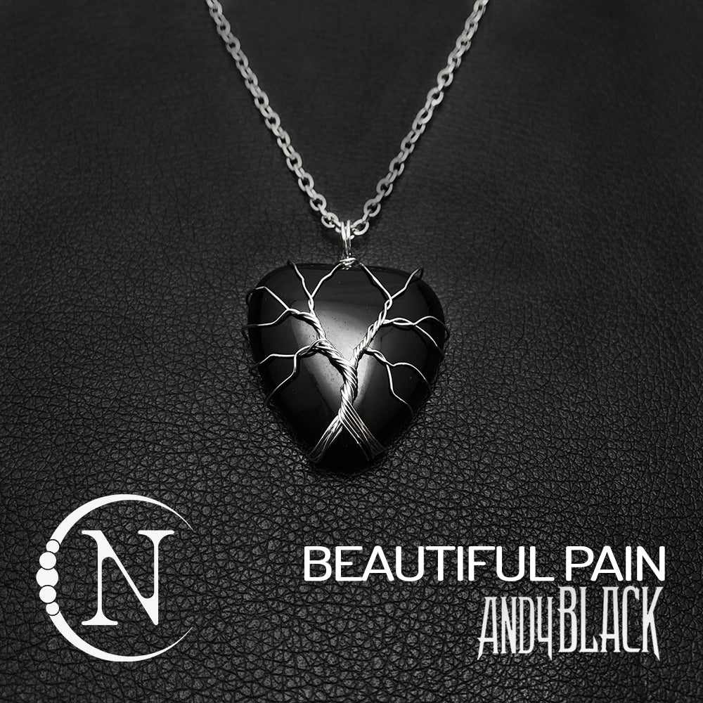 Beautiful Pain NTIO Necklace by Andy Black