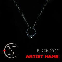 Morticias Rose NTIO Necklace Ring by Ben and Ciara Bruce