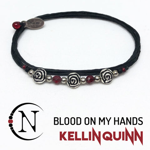 Blood On My Hands NTIO Bracelet by Kellin Quinn