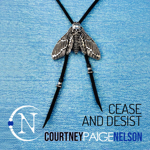 Bolo ~ Cease and Desist NTIO Necklace by Courtney Paige Nelson
