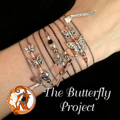 Butterflies Not Cuts NTIO Butterfly Project Bracelet