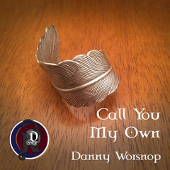 Call You My Own Silver Feather NTIO Ring Cuff by Danny Worsnop