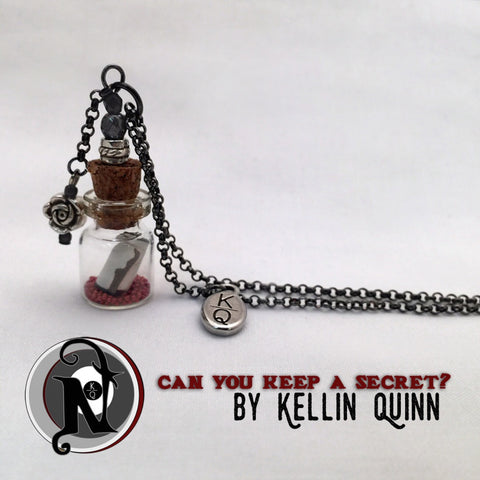 Can You Keep A Secret Vial Necklace By Kellin Quinn