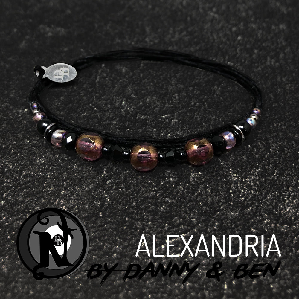 Candlelight Alexandria NTIO Bracelet by Danny Worsnop and Ben Bruce