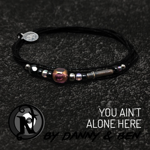 Candlelight You Ain't Alone Here NTIO Bracelet by Danny Worsnop & Ben Bruce