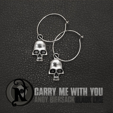 Carry Me With You NTIO Earrings by Andy Biersack