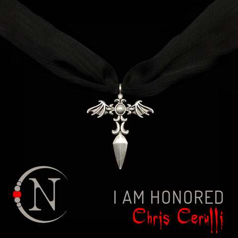 I Am Honored NTIO Necklace/Choker by Chris Cerulli ~ Limited Edition