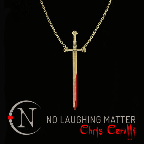No Laughing Matter NTIO Necklace by Chris Cerulli