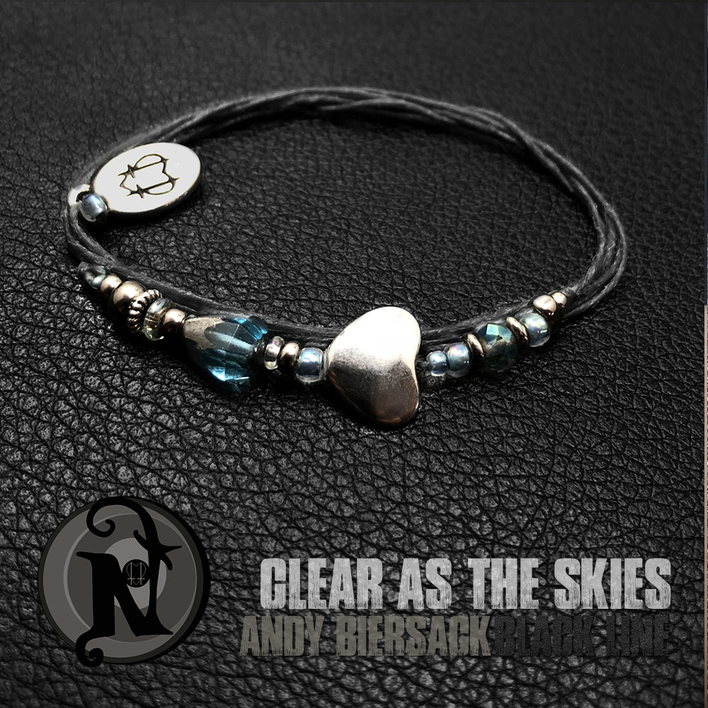 Clear as the Skies  NTIO Bracelet by Andy Biersack ~ Limited Edition