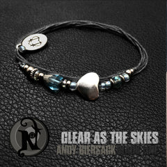 Clear as the Skies  NTIO Bracelet by Andy Biersack ~ Limited Only 25 More