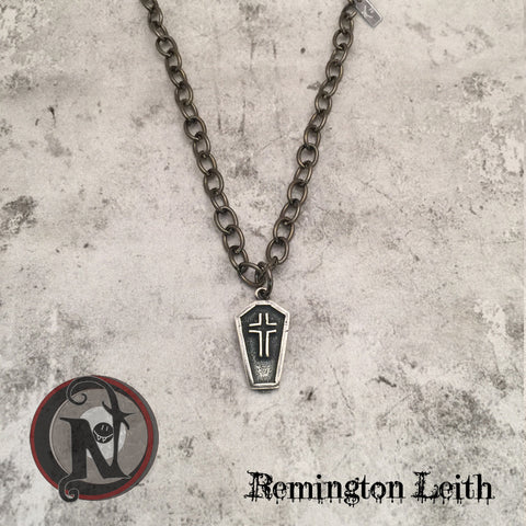 Coffin Necklace by Remington Leith