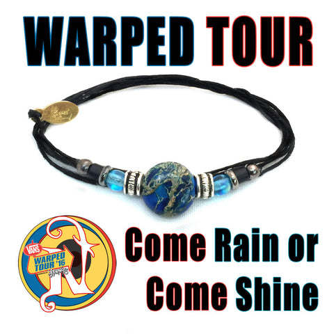 Come Rain or Come Shine NTIO Bracelet by Vans Warped Tour
