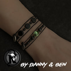 Black Into The Fire NTIO Bracelet by Danny Worsnop and Ben Bruce