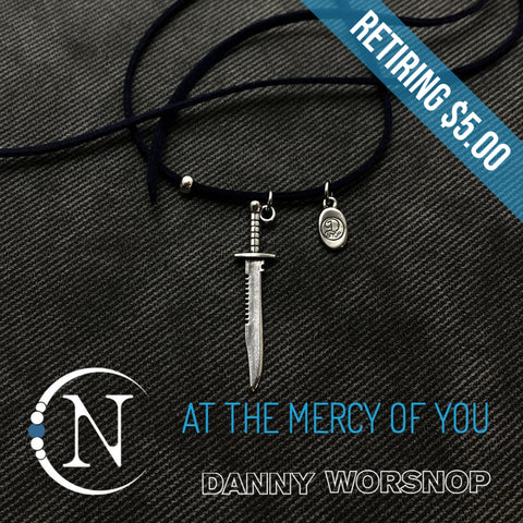 At The Mercy Of You NTIO Necklace by Danny Worsnop - RETIRING