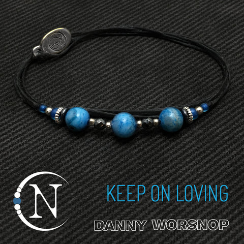 Keep On Loving NTIO Bracelet by Danny Worsnop
