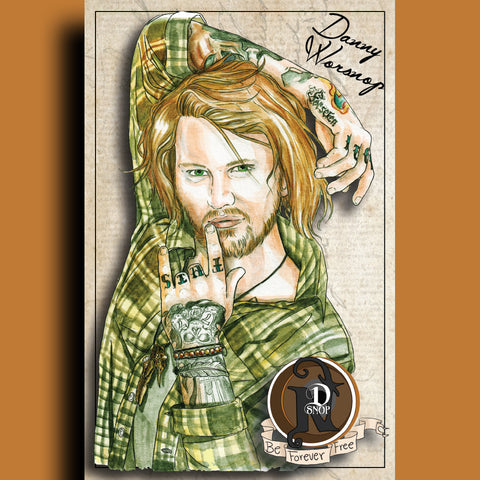 Danny Worsnop - ARTIST POSTER by XOBillie