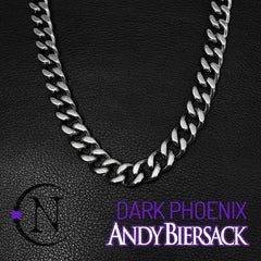 Andy Biersack Silver 4 Piece NTIO Necklace/Choker Stack