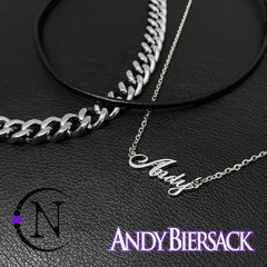 New Era Necklace/Choker ~ By Andy Biersack ~ Limited Edition