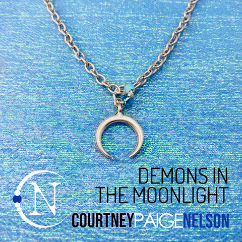 Demons In The Moonlight NTIO Necklace by Courtney Paige Nelson