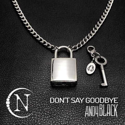Don't Say Goodbye NTIO Necklace by Andy Black