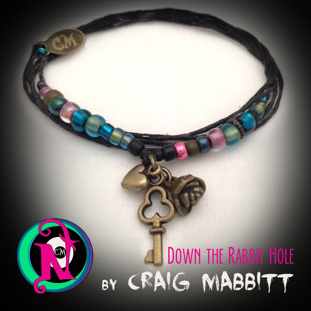 Down the Rabbit Hole NTIO Bracelet by Craig Mabbitt