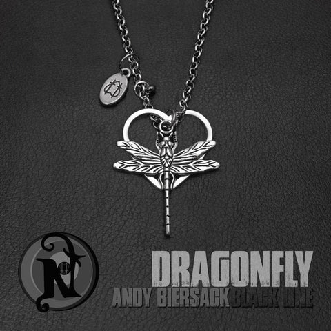 Dragonfly NTIO Necklace by Andy Biersack