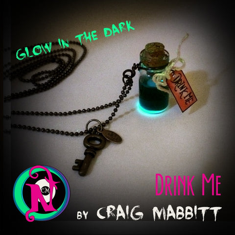 Drink Me NTIO Vial Necklace by Craig Mabbitt