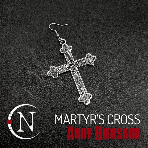 Earring Martyrs Cross by Andy Biersack
