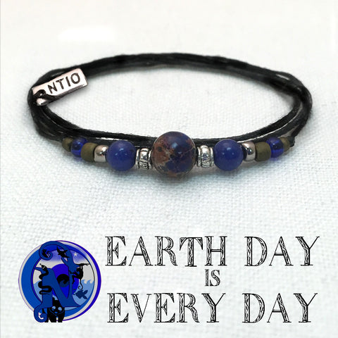 Earth Day is Every Day NTIO Earth Day Bracelet